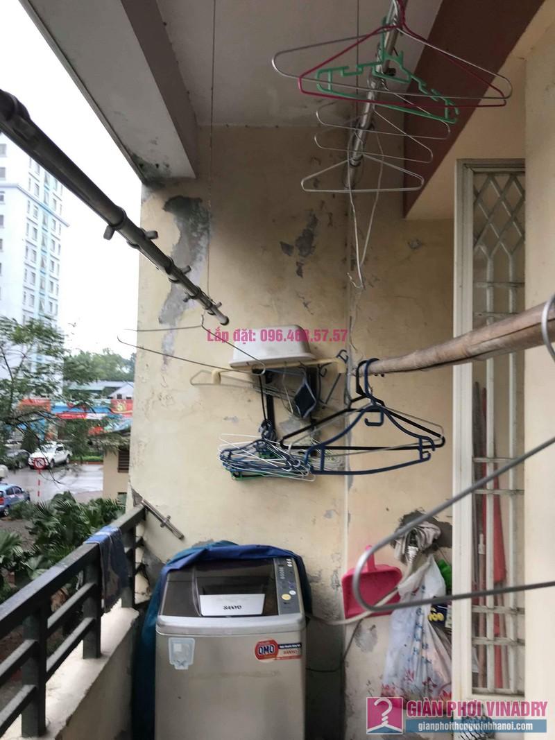 Sửa giàn phơi giá rẻ nhà chị Tình, Tòa P2, KĐT Việt Hưng, Long Biên, Hà Nội - 05