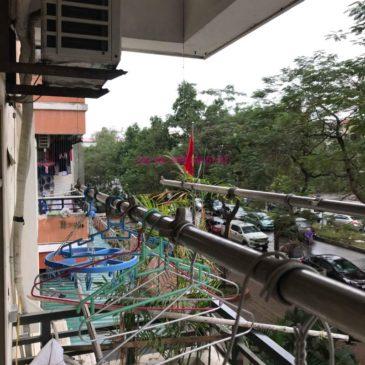 Sửa giàn phơi giá rẻ nhà chị Tình, Tòa P2, KĐT Việt Hưng, Long Biên, Hà Nội
