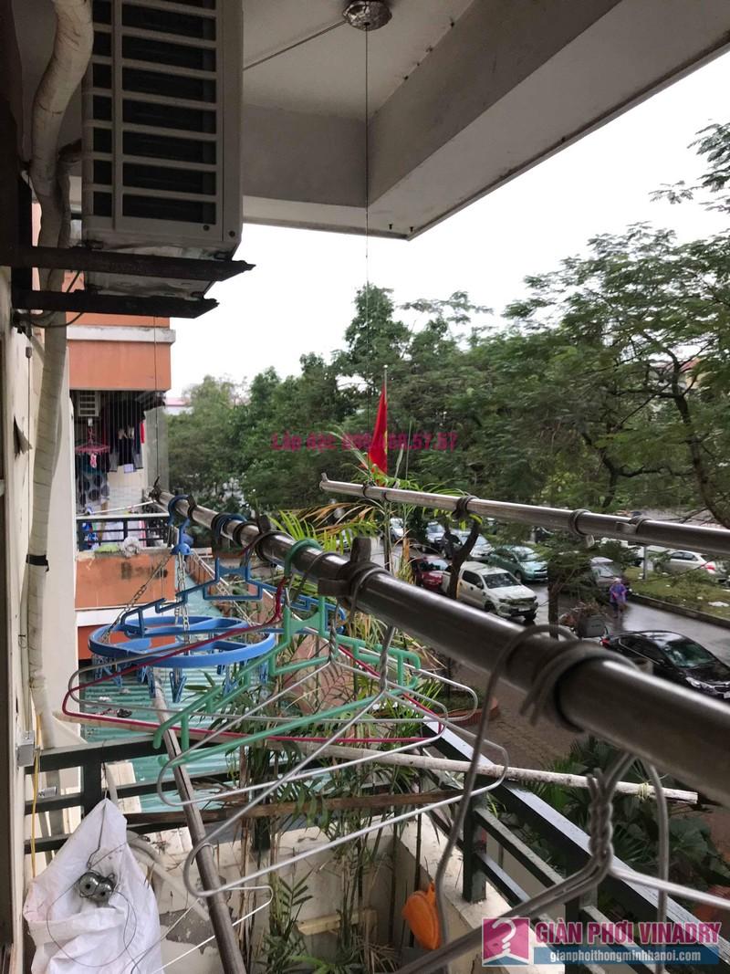 Sửa giàn phơi giá rẻ nhà chị Tình, Tòa P2, KĐT Việt Hưng, Long Biên, Hà Nội - 06