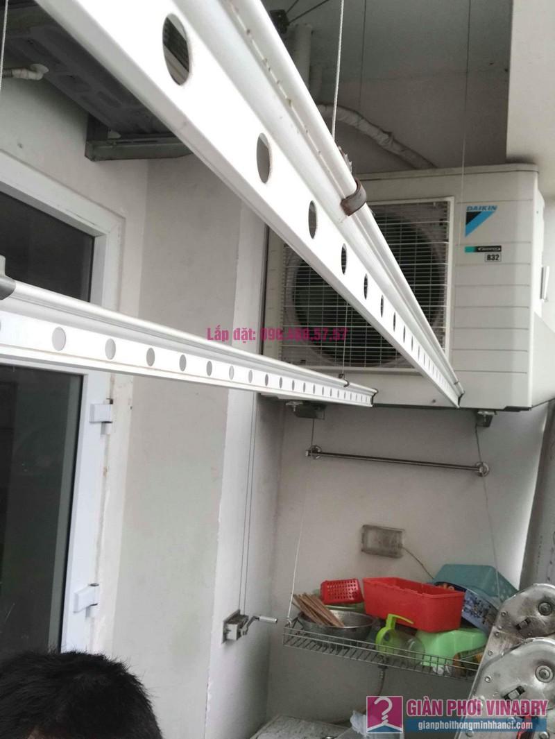 Sửa giàn phơi quần áo nhà chị Nhu, chung cư CT3C Cổ Nhuế, Nam Từ Liêm, Hà Nội - 06