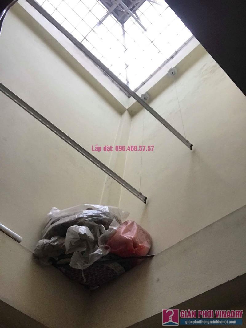 Lắp giàn phơi 999B nhà chị Thảo, ngách 1, ngõ 87 Lê Thanh Nghị, Hai Bà Trưng, Hà Nội - 07