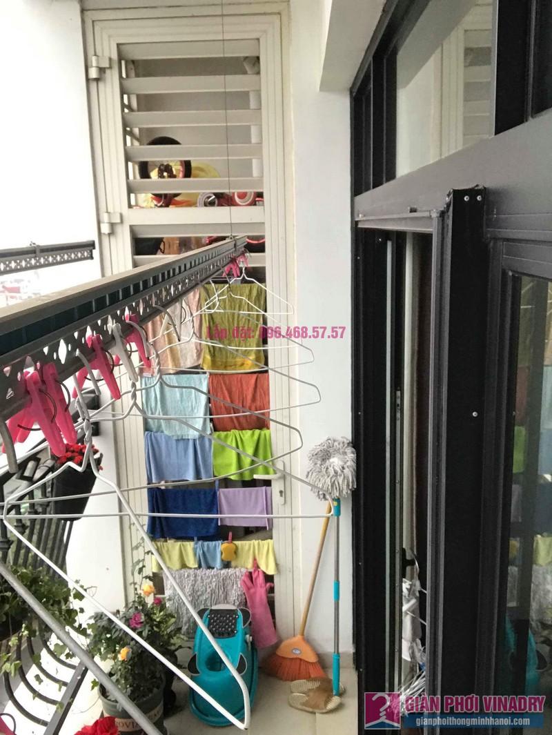 Sửa giàn phơi quần áo nhà chị Hoa, tòa R3, Royal City, Thanh Xuân, Hà Nội - 07