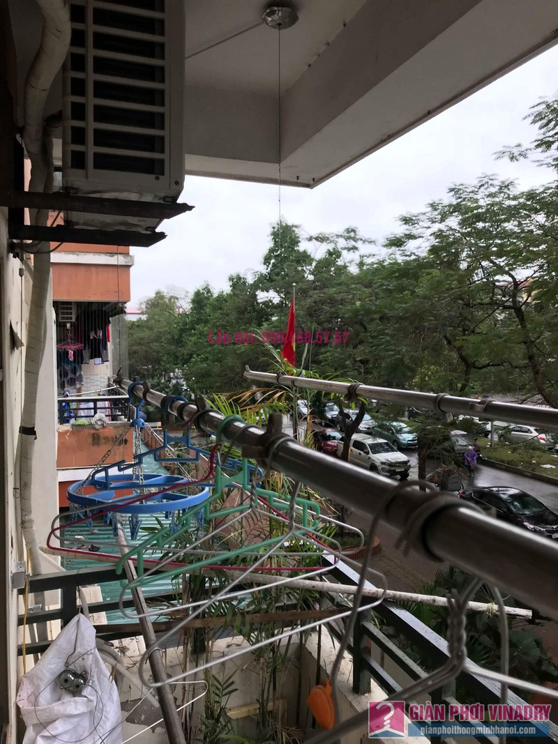 Sửa giàn phơi giá rẻ nhà chị Tình, Tòa P2, KĐT Việt Hưng, Long Biên, Hà Nội - 07