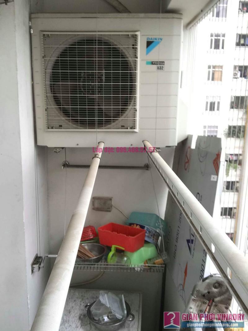 Sửa giàn phơi quần áo nhà chị Nhu, chung cư CT3C Cổ Nhuế, Nam Từ Liêm, Hà Nội - 07
