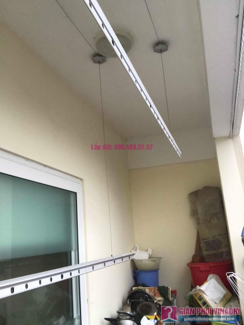 Thay dây cáp giàn phơi thông minh nhà chị Thanh, CT2 chung cư Nam Đô Complex, Hoàng Mai, Hà Nội - 07