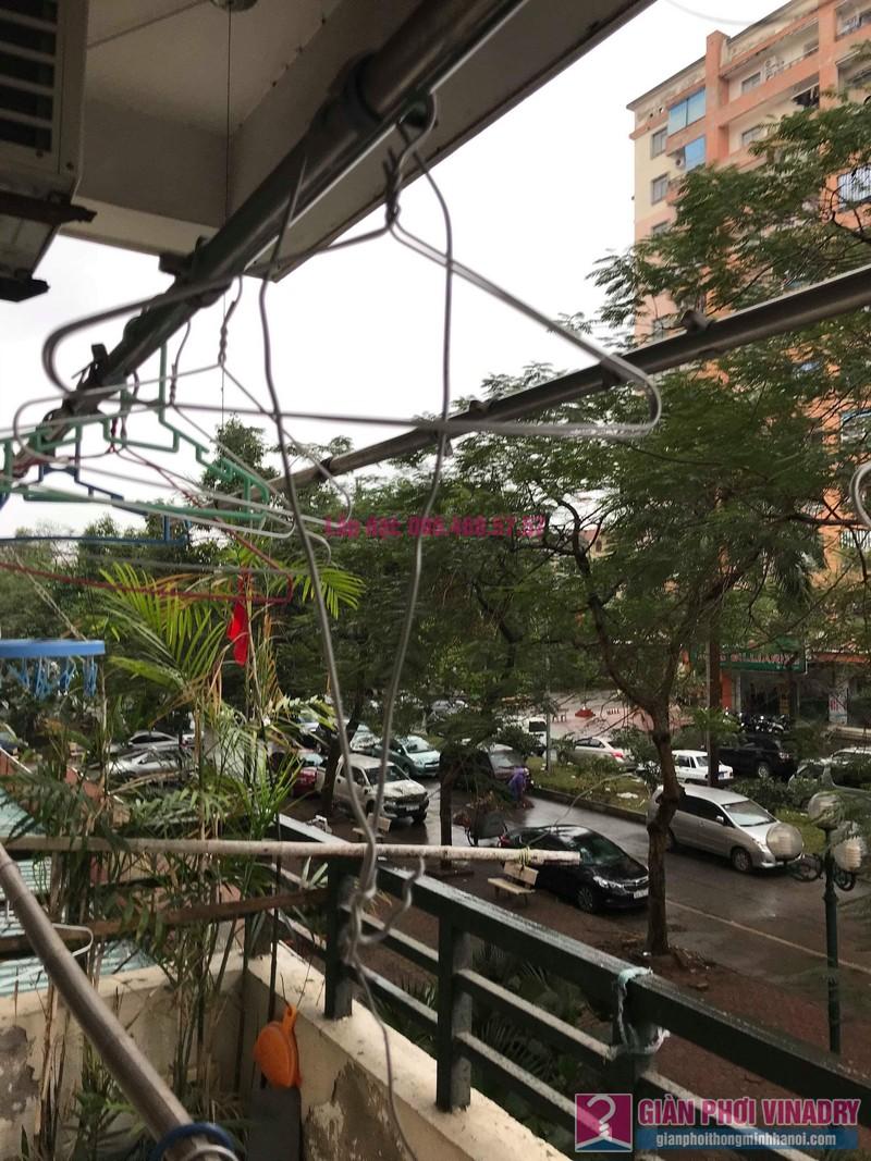 Sửa giàn phơi giá rẻ nhà chị Tình, Tòa P2, KĐT Việt Hưng, Long Biên, Hà Nội - 08