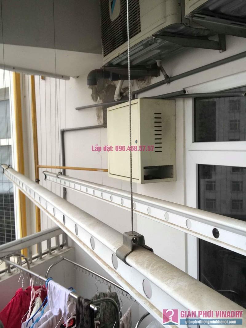 Sửa giàn phơi quần áo nhà chị Nhu, chung cư CT3C Cổ Nhuế, Nam Từ Liêm, Hà Nội - 08