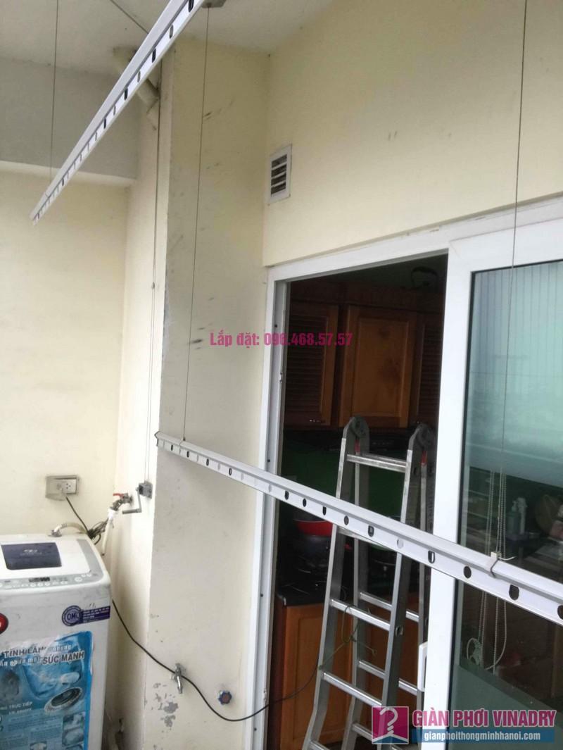 Thay dây cáp giàn phơi thông minh nhà chị Thanh, CT2 chung cư Nam Đô Complex, Hoàng Mai, Hà Nội - 08