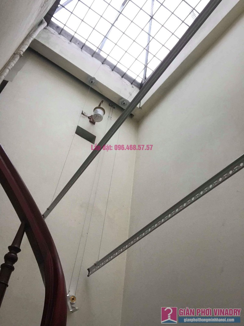 Lắp giàn phơi 999B nhà chị Thảo, ngách 1, ngõ 87 Lê Thanh Nghị, Hai Bà Trưng, Hà Nội - 08