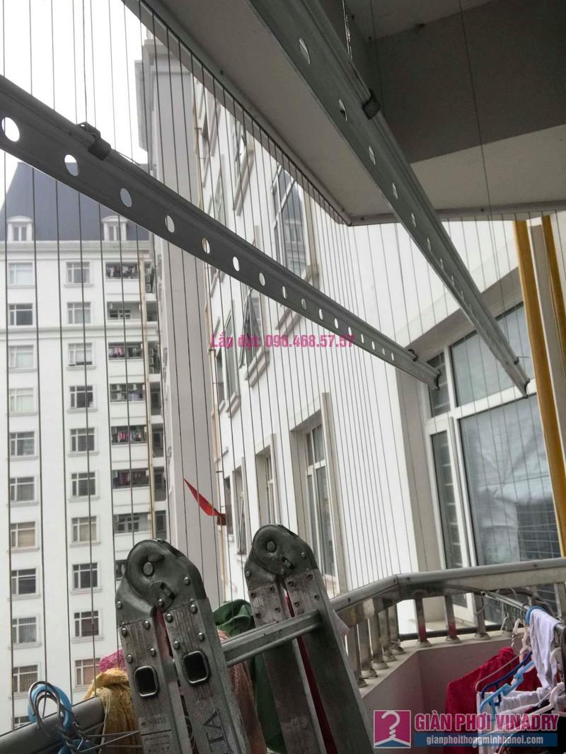 Sửa giàn phơi quần áo nhà chị Nhu, chung cư CT3C Cổ Nhuế, Nam Từ Liêm, Hà Nội - 09