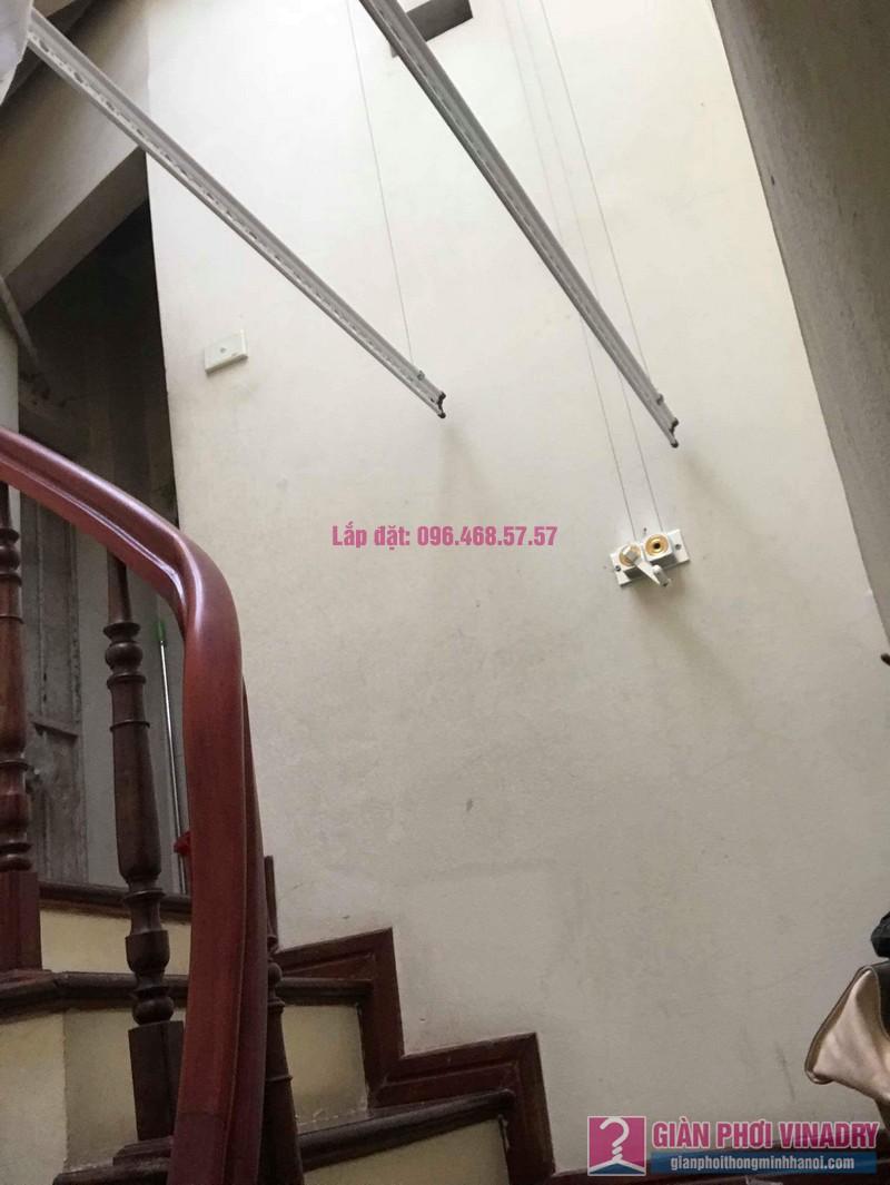 Lắp giàn phơi 999B nhà chị Thảo, ngách 1, ngõ 87 Lê Thanh Nghị, Hai Bà Trưng, Hà Nội - 10
