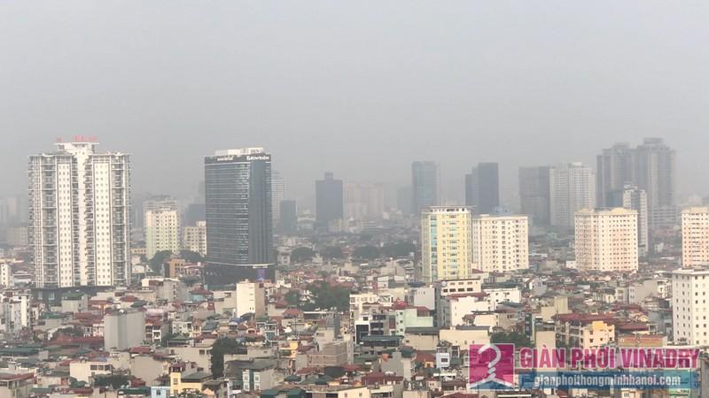 Khung cảnh thành phố tuyệt đẹp từ góc nhìn nhà chị Linh