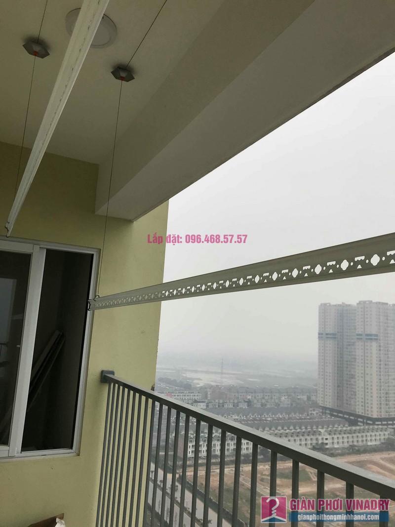 Lắp giàn phơi giá rẻ nhà chị Thịnh, Tòa 18T1 chung cư The Golden An Khánh, Hoài Đức, Hà Nội - 08