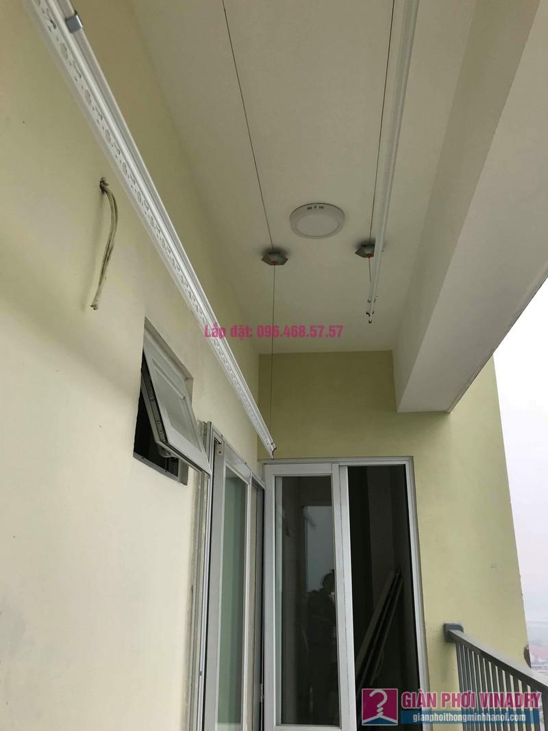 Lắp giàn phơi giá rẻ nhà chị Thịnh, Tòa 18T1 chung cư The Golden An Khánh, Hoài Đức, Hà Nội - 09