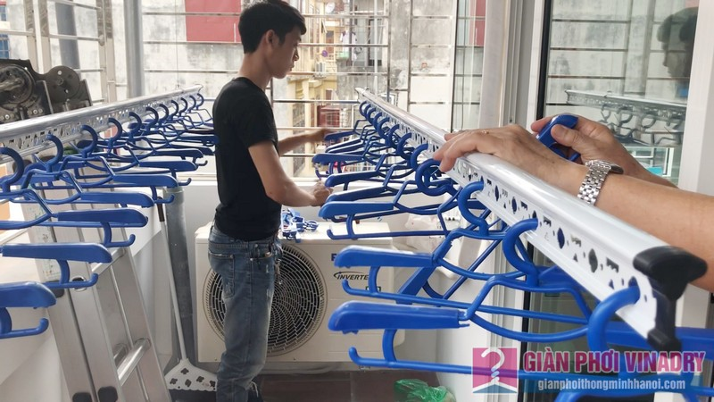 Lắp giàn phơi Ba Đình bộ giàn phơi 701 nhà chú Nghiêm, ngõ 94 Ngọc Khánh - 08