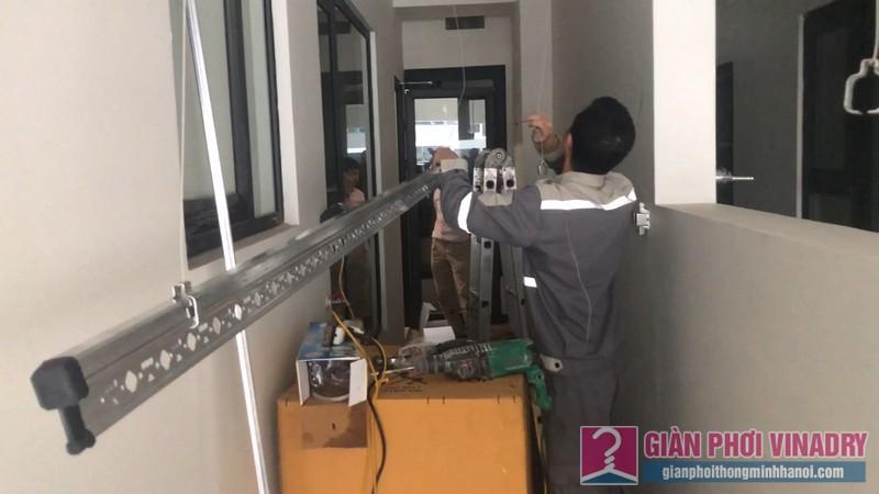 Lắp giàn phơi Hòa Phát 999b, nhà anh Dũng, Tòa C Imperia Garden Nguyễn Huy Tưởng, Thanh Xuân, Hà Nội - 05