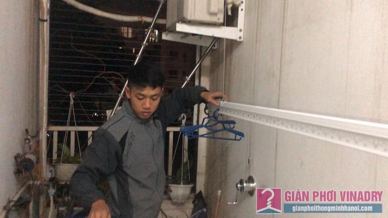 Lắp giàn phơi Long Biên bộ giàn phơi 701 nhà chị Nga, CT18, KĐT Việt Hưng - 07
