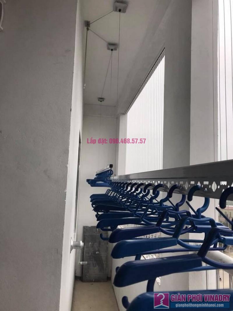 Lắp giàn phơi nhà chị Tuyền, chung cư Lộc Ninh Singashine, Chương Mỹ, Hà Nội - 01