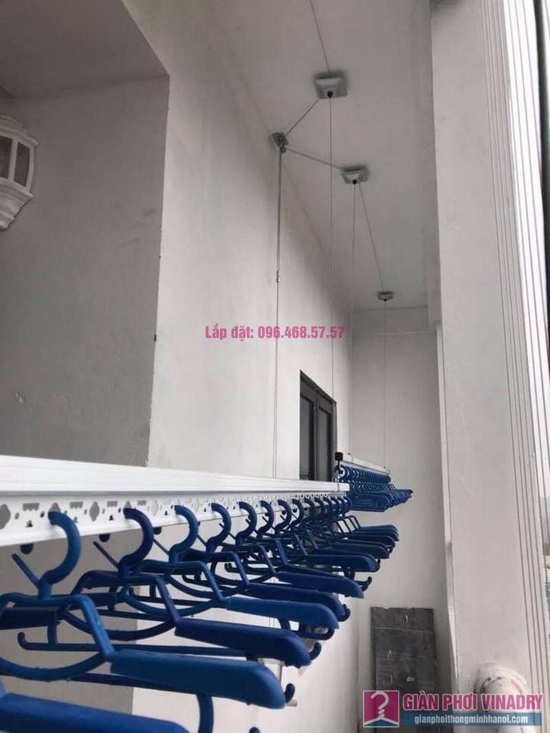 Lắp giàn phơi nhà chị Tuyền, chung cư Lộc Ninh Singashine, Chương Mỹ, Hà Nội - 02