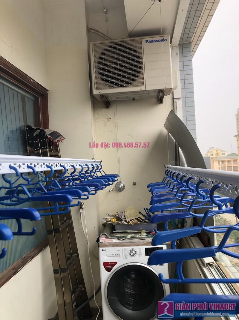 Lắp giàn phơi quần áo nhà chị Băng, tòa nhà Vaem Tây Hồ, ngõ 689 Lạc Long Quân - 07