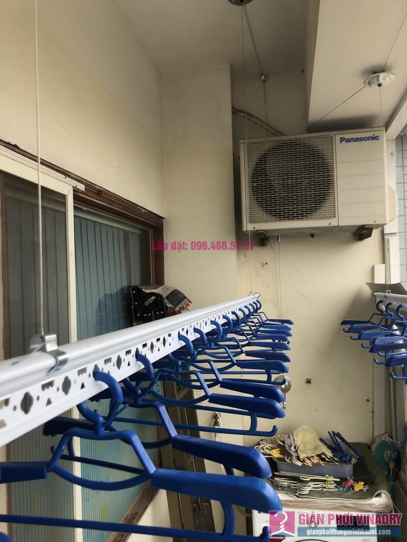 Lắp giàn phơi quần áo nhà chị Băng, tòa nhà Vaem Tây Hồ, ngõ 689 Lạc Long Quân - 09