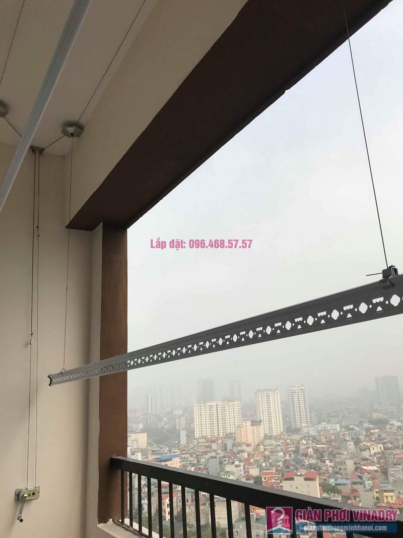 Lắp giàn phơi nhập khẩu nhà chị Linh, Tòa MHDA Trung Văn, Nam Từ Liêm, Hà Nội - 01