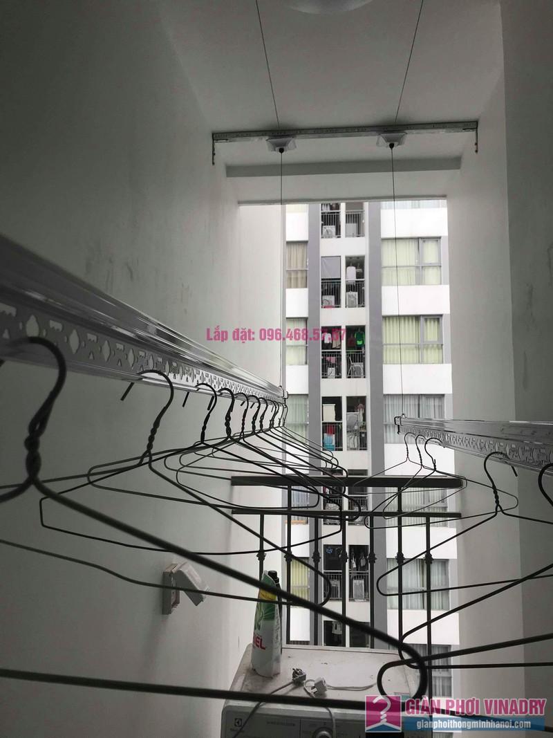 Lắp giàn phơi giá rẻ tại Park Hill Times City nhà anh Bằng, Tòa Park 10 - 03