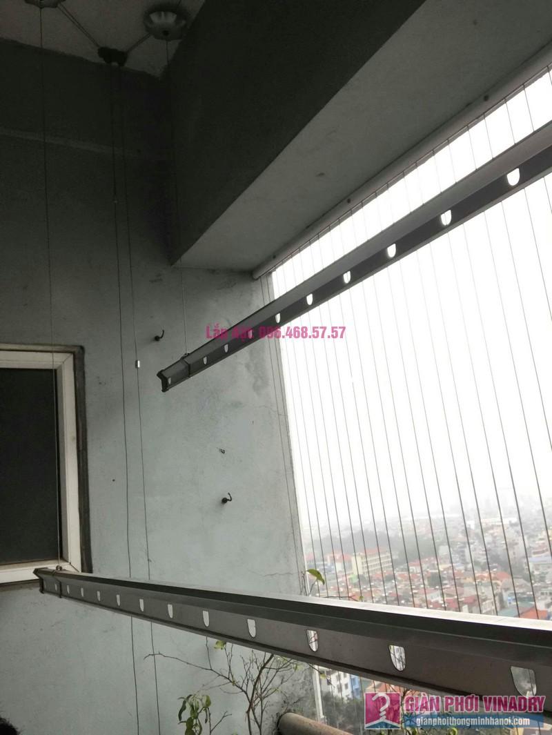 Sửa giàn phơi quần áo nhà chị Bình, chung cư CT2B Xa La, Hà Đông, Hà Nội - 02