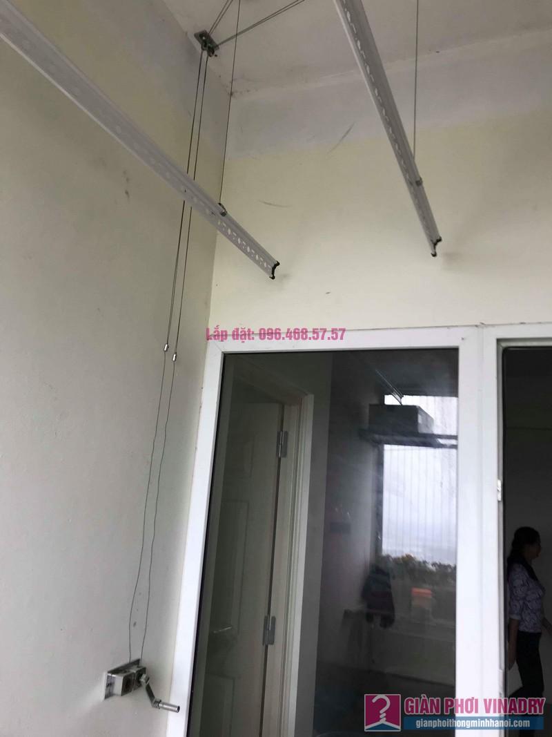 Thay phụ kiện giàn phơi thông minh nhà anh Thăng, chung cư Xuân Mai Complex, Hà Đông, Hà Nội - 02