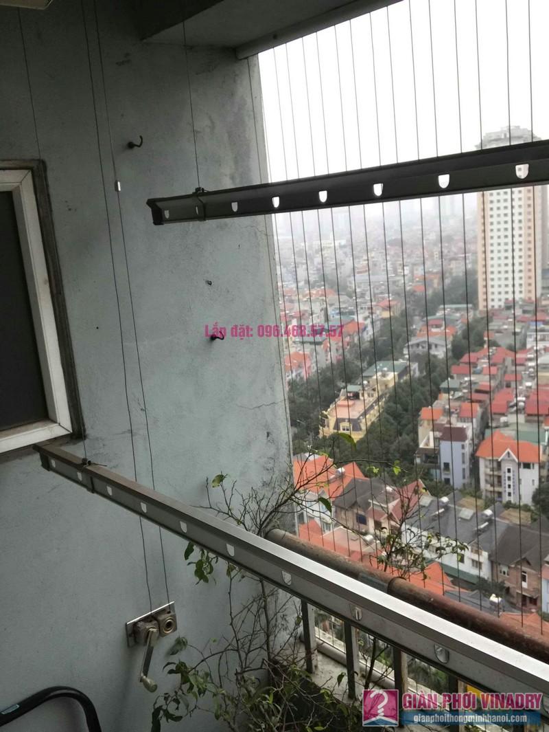 Sửa giàn phơi quần áo nhà chị Bình, chung cư CT2B Xa La, Hà Đông, Hà Nội - 03