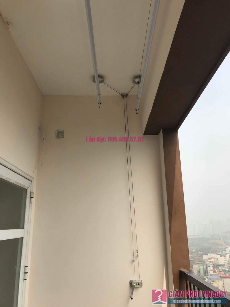 Lắp giàn phơi nhập khẩu nhà chị Linh, Tòa MHDA Trung Văn, Nam Từ Liêm, Hà Nội - 03