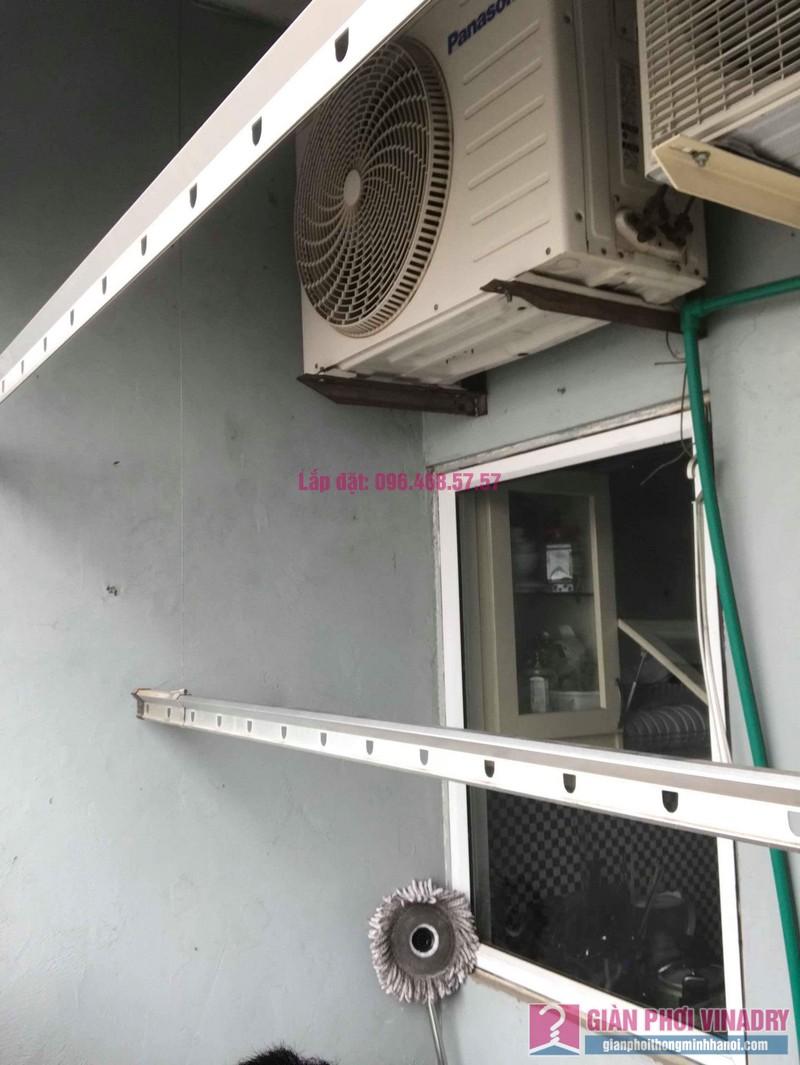 Sửa giàn phơi quần áo nhà chị Bình, chung cư CT2B Xa La, Hà Đông, Hà Nội - 05