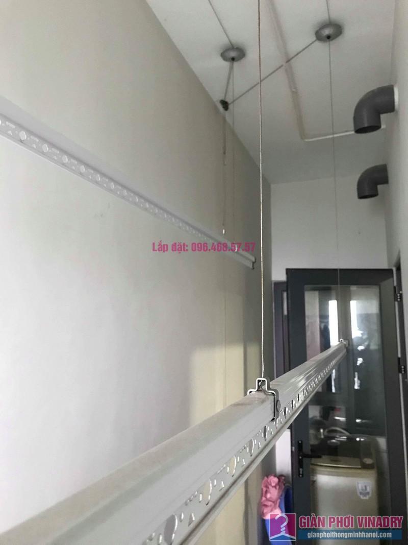 Lắp giàn phơi quần áo nhà chị Thu, tòa CT2E, Xuân Mai Mễ Trì Plaza, Nam Từ Liêm, Hà Nội - 05