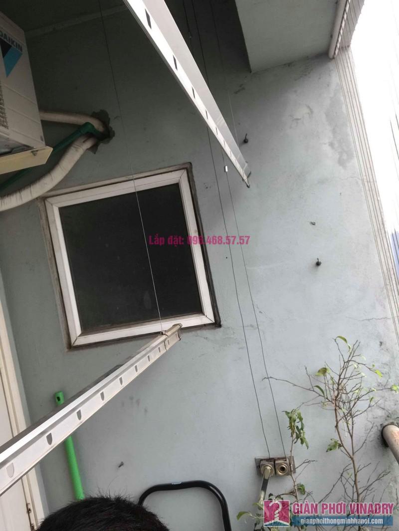 Sửa giàn phơi quần áo nhà chị Bình, chung cư CT2B Xa La, Hà Đông, Hà Nội - 06