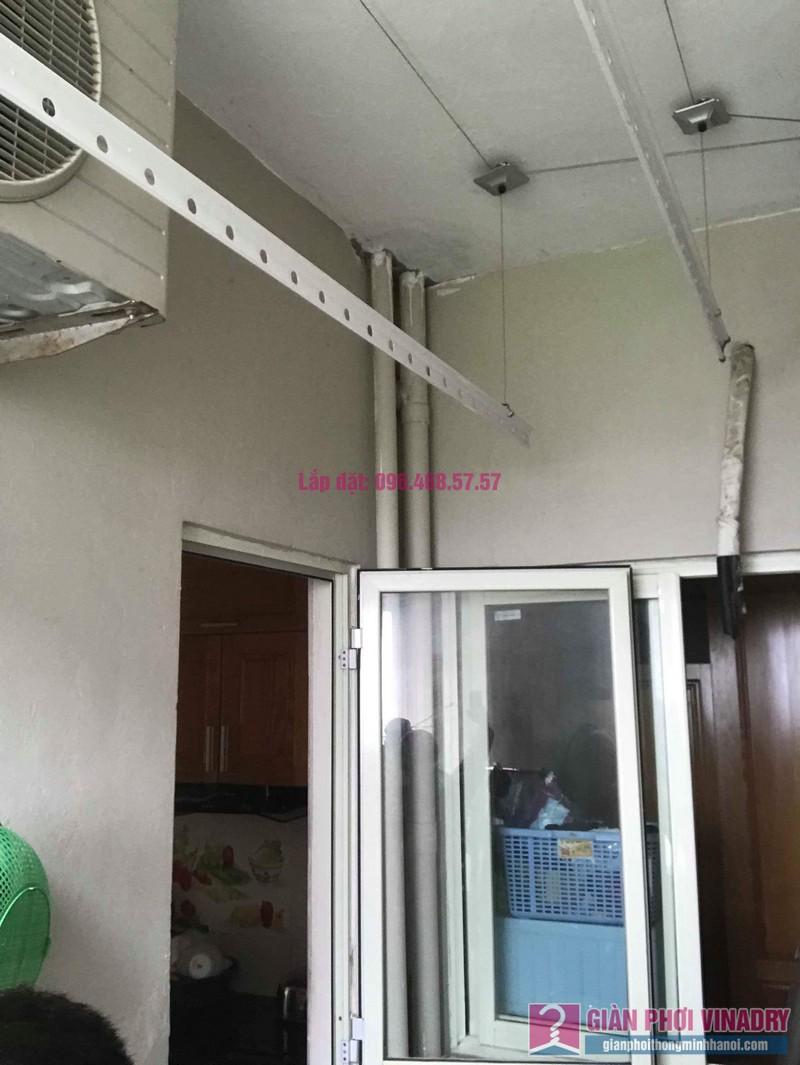Lắp giàn phơi nhập khẩu nhà chị Thơm, chung cư Ecohome 1, Bắc Từ Liêm, Hà Nội - 07