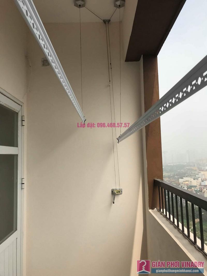 Lắp giàn phơi nhập khẩu nhà chị Linh, Tòa MHDA Trung Văn, Nam Từ Liêm, Hà Nội - 08
