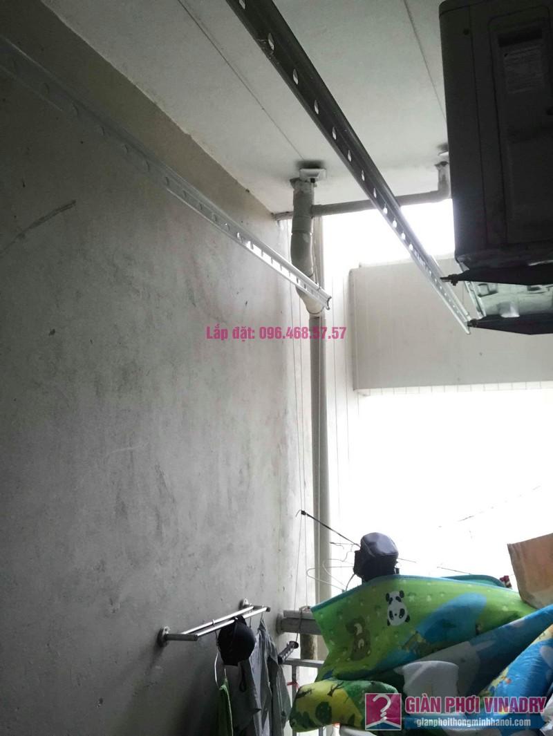 Lắp giàn phơi nhập khẩu nhà chị Thơm, chung cư Ecohome 1, Bắc Từ Liêm, Hà Nội - 08