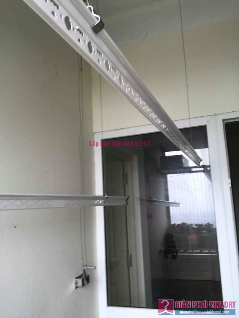 Thay phụ kiện giàn phơi thông minh nhà anh Thăng, chung cư Xuân Mai Complex, Hà Đông, Hà Nội - 09