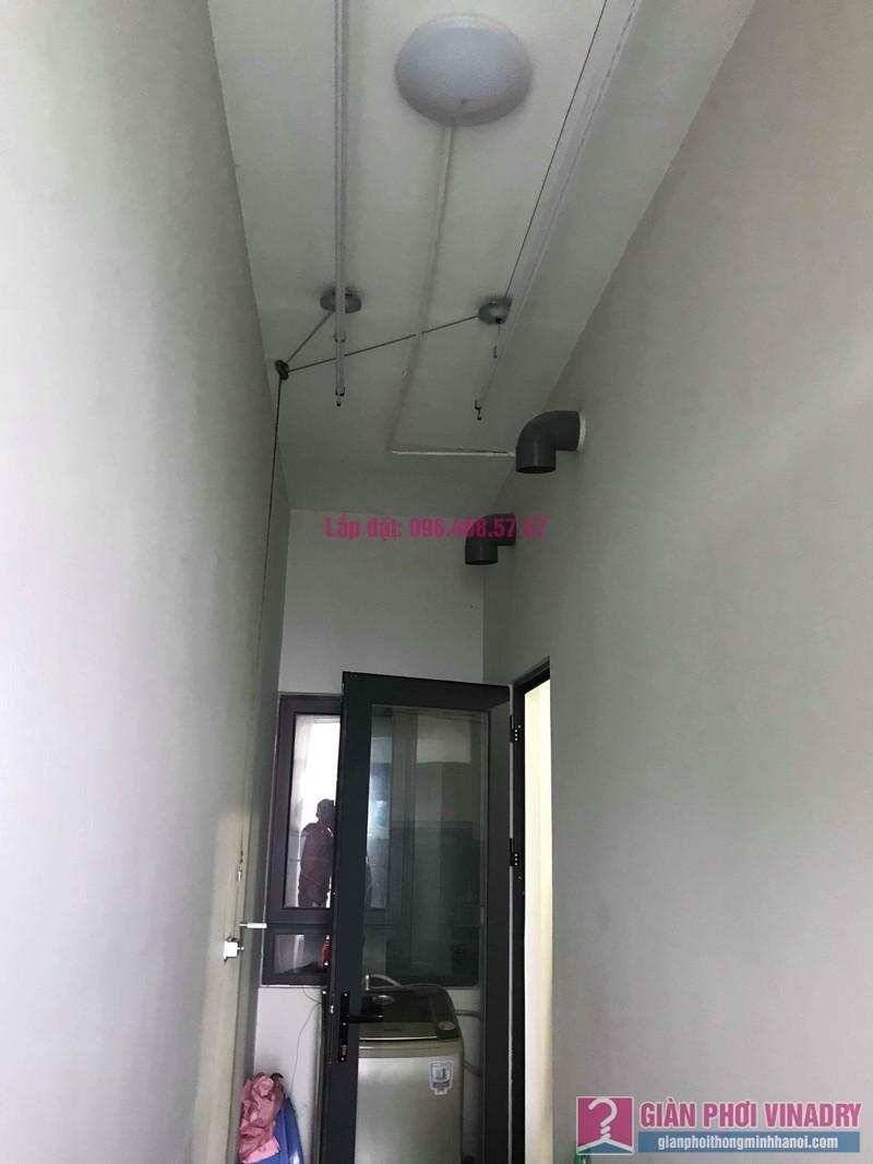 Lắp giàn phơi quần áo nhà chị Thu, tòa CT2E, Xuân Mai Mễ Trì Plaza, Nam Từ Liêm, Hà Nội - 08