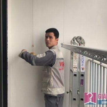 Lắp giàn phơi Hòa Phát HP900 nhà chị Mai, chung cư 219 Trung Kính, Cầu Giấy, Hà Nội