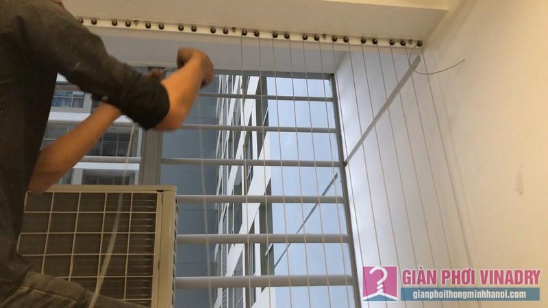 Lắp lưới an toàn ban công nhà chị Nguyệt, tòa A1, chung cư Vinhome Gardenia Mỹ Đình - 06