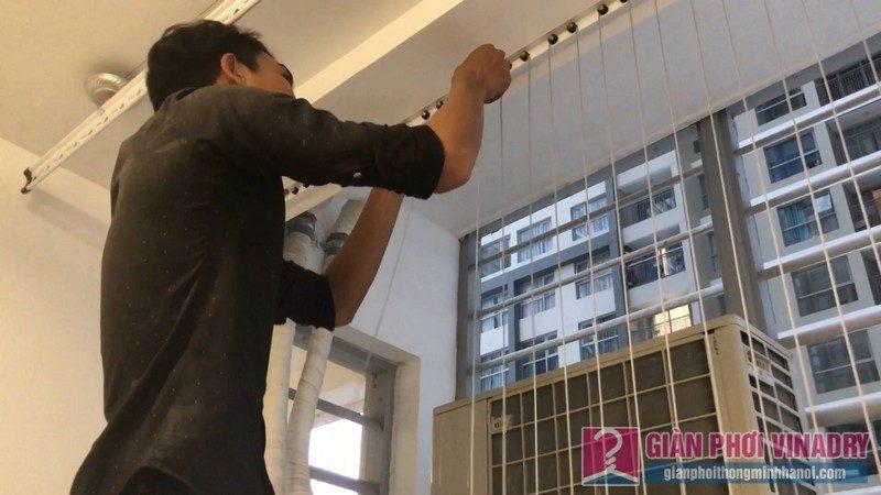 Lắp lưới an toàn ban công nhà chị Nguyệt, tòa A1, chung cư Vinhome Gardenia Mỹ Đình - 07