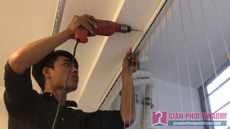 Lắp lưới an toàn ban công nhà chị Nguyệt, tòa A1, chung cư Vinhome Gardenia Mỹ Đình - 11