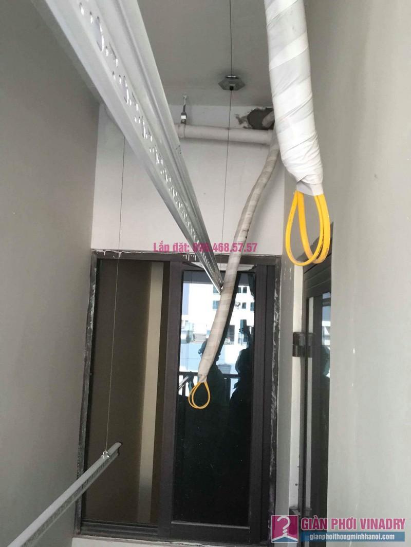 Lắp giàn phơi thông minh Long Biên nhà chị Thịnh, Phòng A1105, chung cư Valencia Garden - 08
