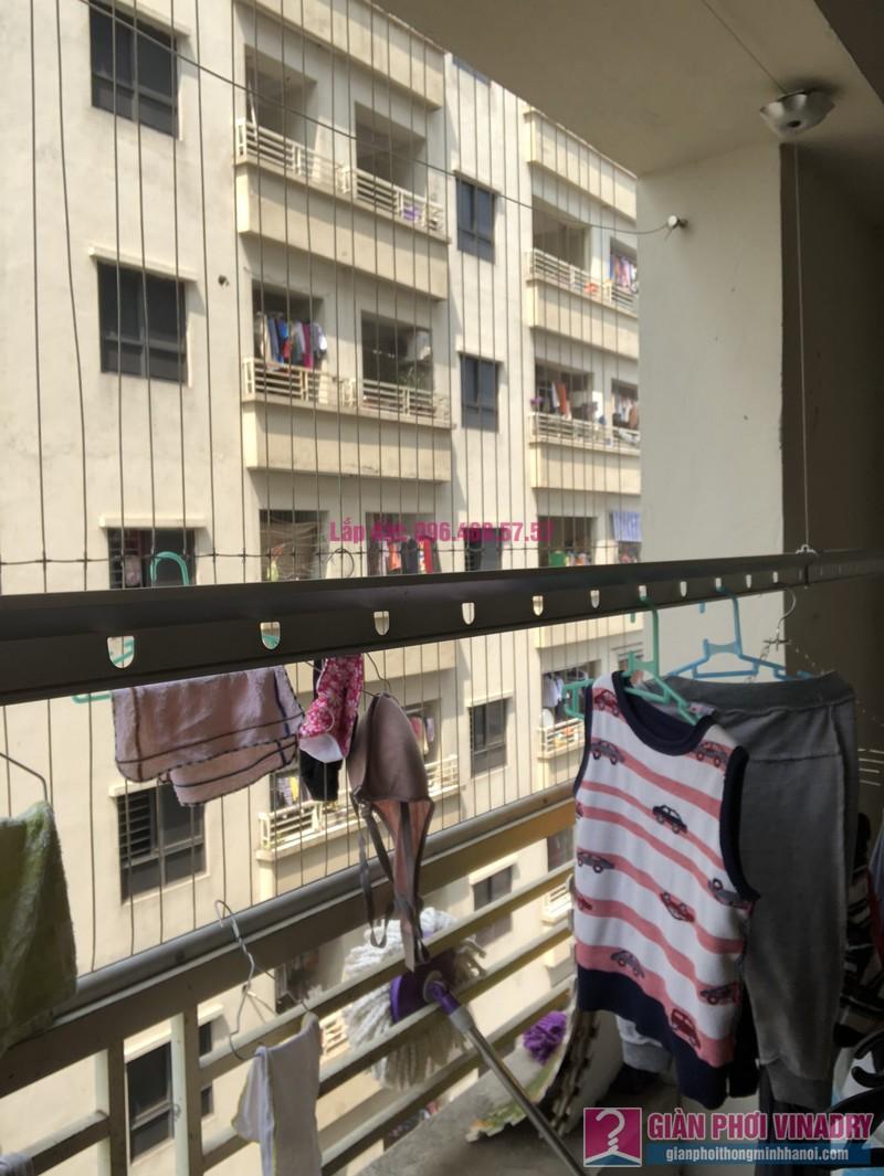 Sửa giàn phơi Thanh Trì nhà chị Minh, P2711, chung cư CT8B Đại Thanh - 06