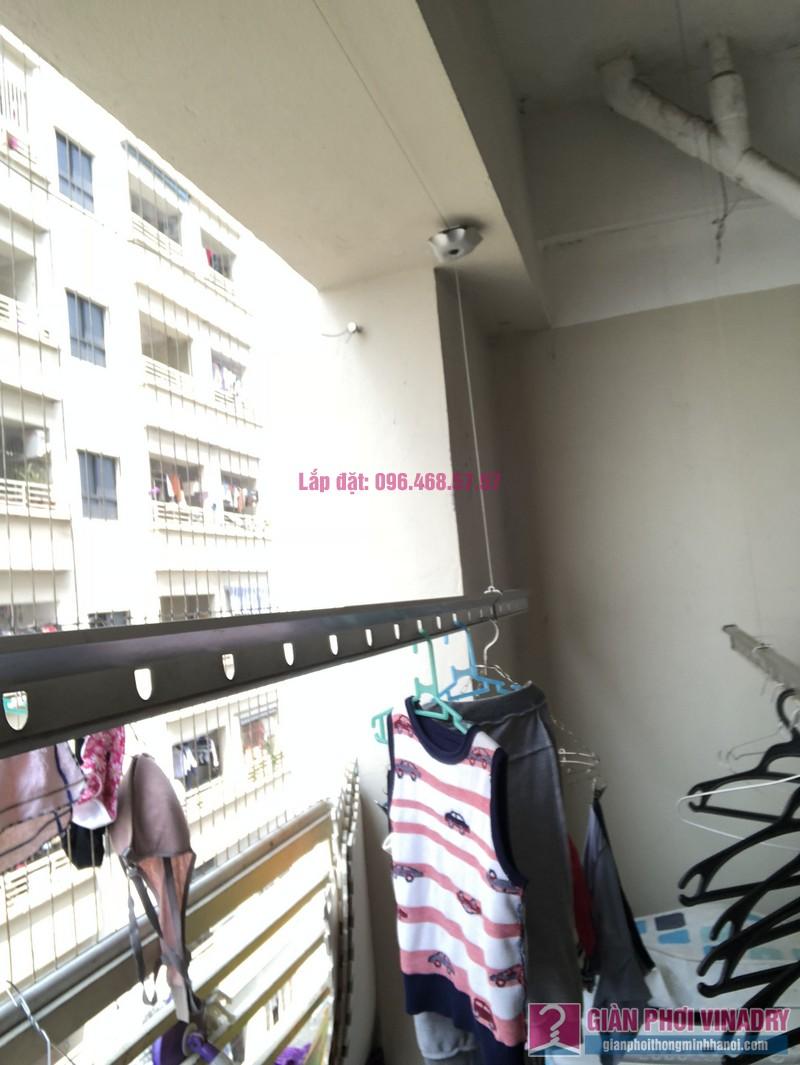 Sửa giàn phơi Thanh Trì nhà chị Minh, P2711, chung cư CT8B Đại Thanh - 07