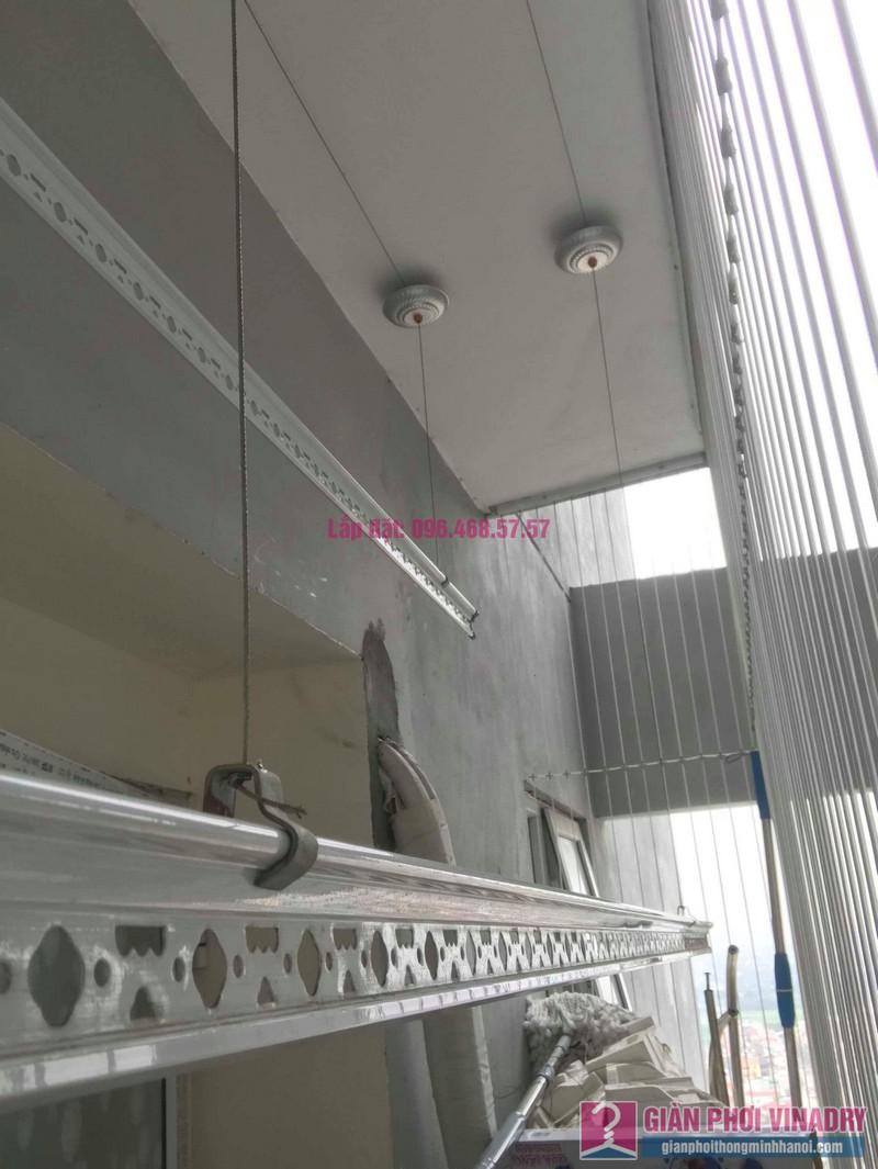 Thay dây giàn phơi thông minh nhà anh Đại, chung cư viện 103 Văn Quán, Thanh Trì, Hà Nội - 03