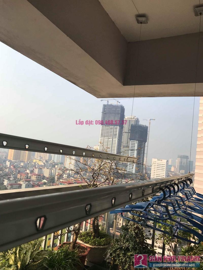 Sửa giàn phơi quần áo nhà chị Minh, chung cư N03, Trần Đăng Ninh, Cầu Giấy, Hà Nội - 03