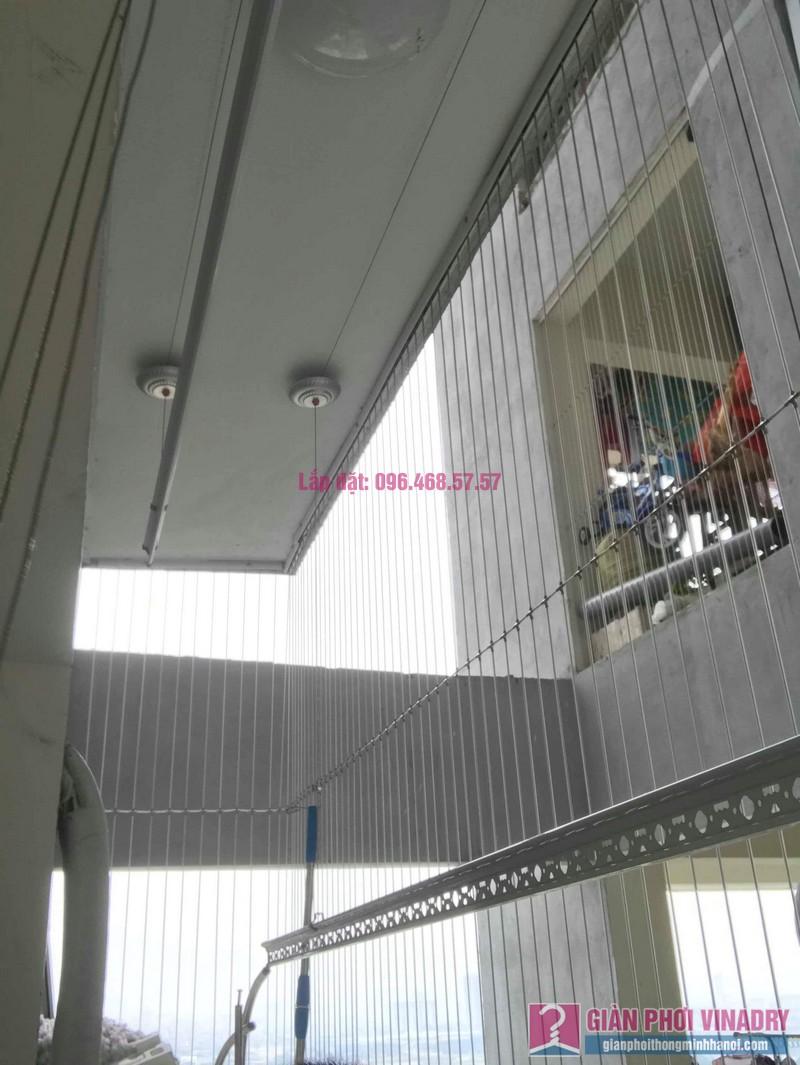Thay dây giàn phơi thông minh nhà anh Đại, chung cư viện 103 Văn Quán, Thanh Trì, Hà Nội - 05