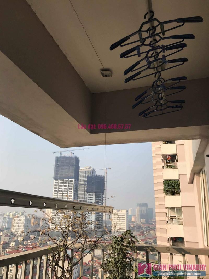 Sửa giàn phơi quần áo nhà chị Minh, chung cư N03, Trần Đăng Ninh, Cầu Giấy, Hà Nội - 05